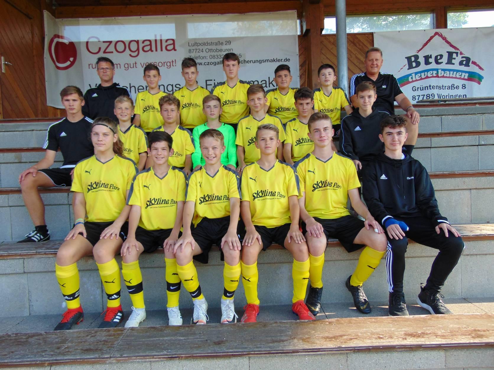 Fussball Tsv Ottobeuren C Junioren U15